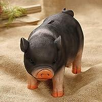 Preisvergleich für WUTONGSuper gro?e Kapazit?t DREI-Farben super sü?e Schwein Sparschwein Harz Handwerk Ornamente