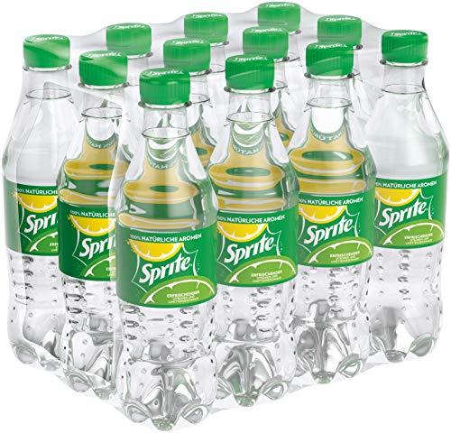 Sprite / Maximale Erfrischung mit Limetten und Zitronen Geschmack in praktischen Flaschen / 12 x 500 ml Einweg Flasche