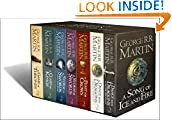 #4: A Song of Ice and Fire - A Game of Thrones: The Complete Boxset of 7 Books