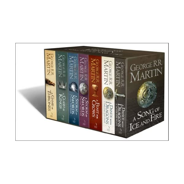 A Song of Ice and Fire, 7 Volumes 512TyJfIj9L