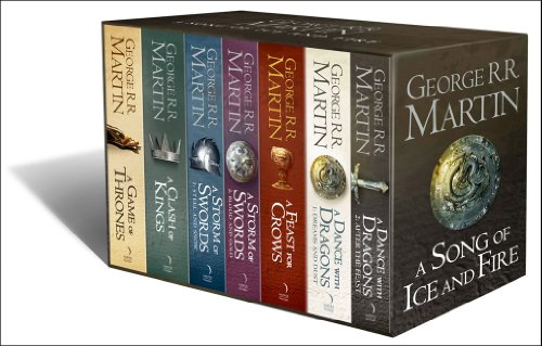 Picture of A Song of Ice and Fire, 7 Volumes