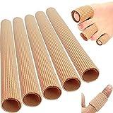 5x15cm Silikon Gel Zehenschutz Fingerbandage Finger Zehen Hallux Valgus Verband Schlauch Schlauchbandage Druckschutz Schutz
