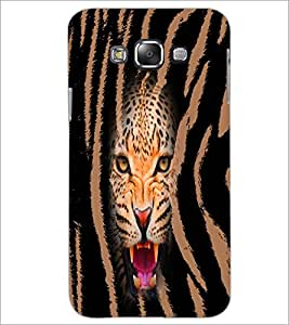 PrintDhaba Leopard D-4968 Back Case Cover for SAMSUNG GALAXY A8 (Multi-Coloured)