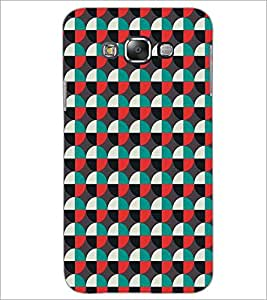 SAMSUNG GALAXY GRAND 3 CIRCLE PATTERN Designer Back Cover Case By PRINTSWAG