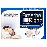 Breathe Right Nasal Strips,...