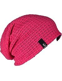Amazon.es  Rosa - Gorros de punto   Sombreros y gorras  Ropa 2b4a6f0b033