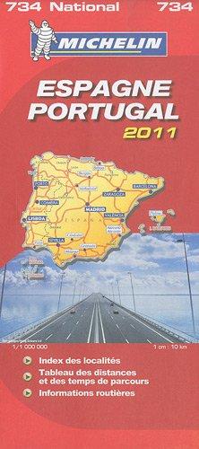 Espagne, Portugal : 1/1 000 000