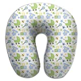 tianjianzulinyouxiangongsi U-Shaped Pillow Neck Shoulder Body Care Baby Carriage and Cloth Health Soft U-Pillow for Home Travel Flight Unisex Supportive Sleeping