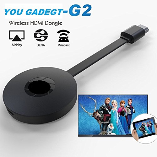 You Gadget GOOGLE PIXEL XL Compatible 2017 E8A 1080P Multi-Screen Interactive Wifi Display Dongle Receiver Airplay Chromecast RK3036 Support Miracast DLNA  available at amazon for Rs.2999
