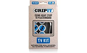 Kit de fijación de GripIt de 25 mm para televisores de pantalla plana en paredes de pladur