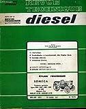 Revue technique diesel n° 52 d. etude technique: someca, tracteurs agricoles types 400 - 450 - 500 - 550 et 600, moteurs fiat 8035-01 et 02 - 8045-01 et 02......