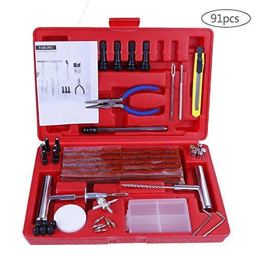 Preisvergleich Produktbild Faburo Reifenreparatur-Set,  schlauchlos,  Reparatur-Set für Auto,  Motorrad,  LKW