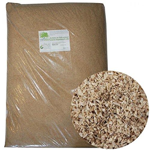 Toprauch Räuchermehl Supra fein 0,4 - 1,0mm 20kg Räucherspäne Räucherholz Räuchern