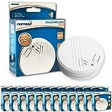 Nemaxx FL2 - Alarmas antiincendios (12 unidades, certificado EN 14604)