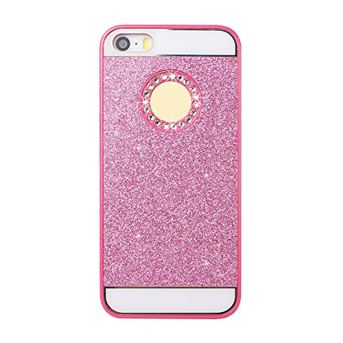 3PCS Coque iPhone 5 5S Bling Dure de PC Case, iPhone SE Arrière Etui, Moon mood® Telephone Portable Coque Plastique Dure de PC Retour Bumper Case Cover Ultra Mince Slim Thin Pratiques de Protection Ho 2PCS -05
