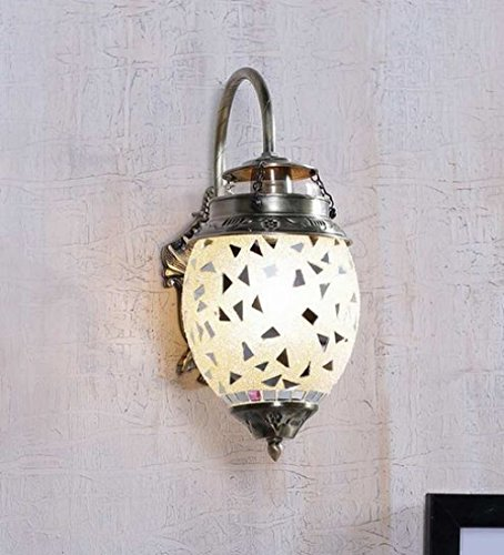 The Brighter Side Good Premium Quality Latest Trendy Silver Mirror Wall Light For Room Office Home Decor