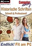 Computer easy: Historische Schriften Bild
