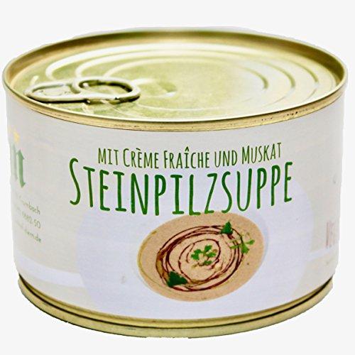 Diem Vegetarische Steinpilz mit Creme Fraiche und Muskat Suppe Dose 400G