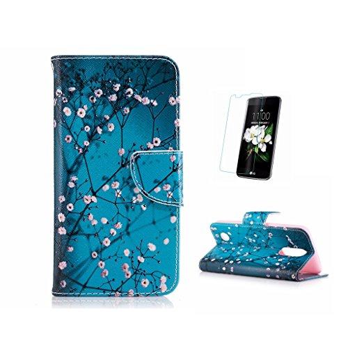 Funda para LG K82017[con protector de pantalla de cristal templado], fatcatparadise (TM)...