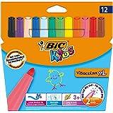 Bic Kids - Visacolor XL - Feutre de coloriage - Couleurs assorties