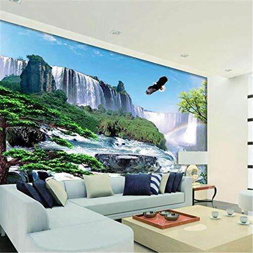 3D-Tapeten, Erweiterung der traditionellen chinesischen Wandmalerei Zimmer - Badezimmer TV Sofa Hintergrund Dekoration Tapete -300 * 210 cm - Leder Traditionellen Sofa