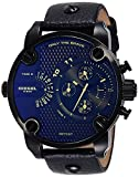 Diesel Mens Chronograph Quartz Watch with Leather Strap DZ7257