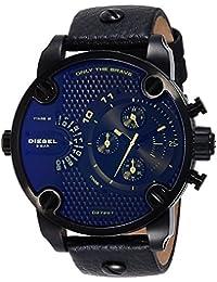 afeb054b10f2 Diesel Reloj Cronógrafo para Hombre de Cuarzo con Correa en Cuero DZ7257