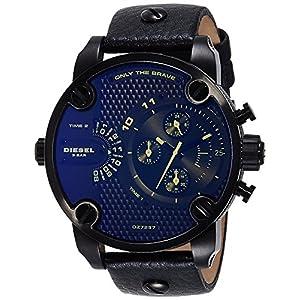 Diesel Reloj Cronógrafo para Hombre de Cuarzo con Correa en Cuero DZ7257