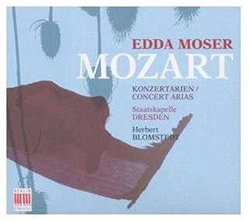 Wolfgang Amadeus Mozart - Abbe Gaetano Sertor - Ranieri de' Calzabigi : Mozart, W.a.: Concert Arias (Moser, Dresden Staatskapelle, Blomstedt)