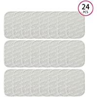 DOMAS EMS Abs Replacement Pads, Abs Trainer Replacement Gel Sheet Abdominal Toning Belt Muscle Toner Ab Trainer Accessories 24Pcs/12 Pack Gel Sheets For Gel Pad
