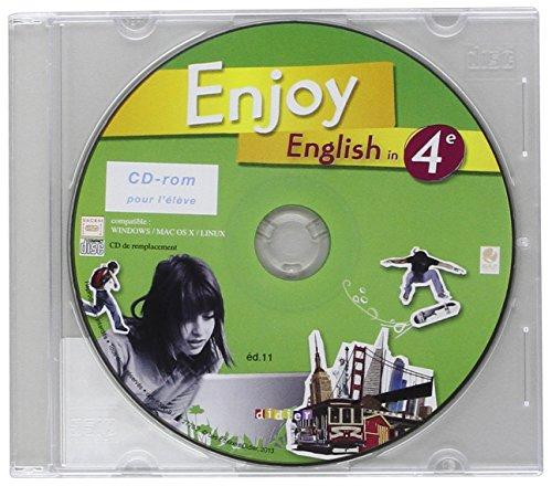 Enjoy 4e ed 2008 CD Audio ROM de Remplacement