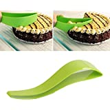 Plastic Kitchen Ergonomic Design Cake Pastry Server Cutter And Slicer By Drake (Assorted Color)