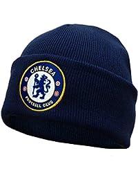 Chelsea FC Official Bronx Cuffed Knit Beanie