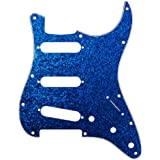 D'Andrea DPP ST BLS Pro Pickguard Strat for Electric Guitar, Blue Sparkle