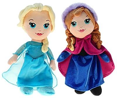 """'Disney 201790-Peluche """"Disney Frozen-Elsa & Anna, 30cm de Disney"""