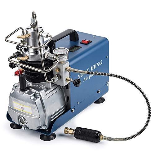 CGOLDENWALL, compressore d'aria elettrico ad alta pressione, per combattere il fuoco, rilevamento delle perdite, tester di pressione (AC100~120 V/60 Hz)