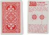 FLIPFIT Spy marked Magic Playing Cards Best for Flash (Red)