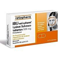 Ibu-ratiopharm Lysinat 500 Tabletten, 20 St. preisvergleich bei billige-tabletten.eu