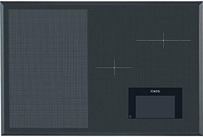 AEG HKH81700FB Integrado Inducción Gris - Placa (Integrado, Induction hob, Gris, Tocar)
