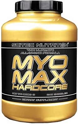 Scitec Nutrition MYO Max Hardcore Anabolic Muscle and Performance Enhancer Powder - 3080g, Creamy Yogurt Cookie from Scitec Nutrition