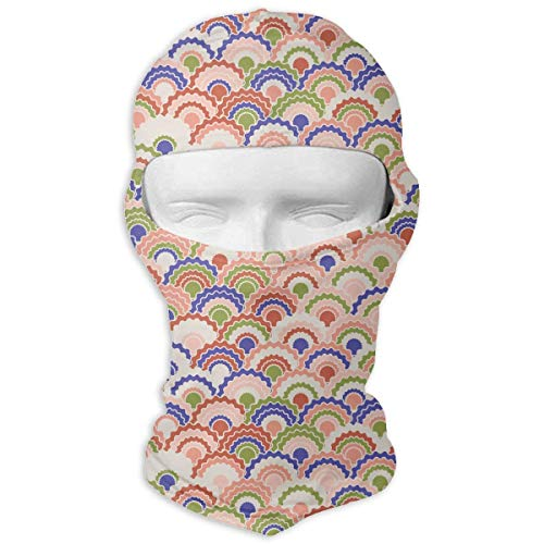 Sdltkhy Beautiful Mermaid Scales Squama Full Face Mask Sun Dust Wind Protection Durable Breathable Seamless Face Mask Bandana New15