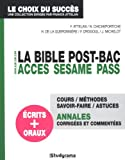 La bible ACCES, SESAME, PASS