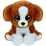 TY Snicky - juguetes de peluche (Perro de juguete, Negro, Marrón, Color blanco, Cualquier género)