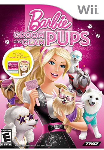 Barbie: Groom and Glam Pups (Nintendo Wii) (NTSC)