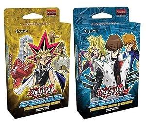 Yu-Gi-Oh! SS01/SS02 Speed Duel Starter Decks Set de 2 Destiny Masters et Duellistes de Tomorrow
