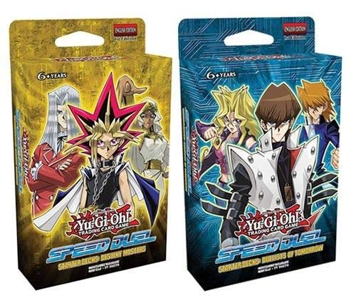 Yu-Gi-OH. SS01/SS02 Speed Duel starter Deck set di 2-destiny Masters e Duelists of Tomorrow
