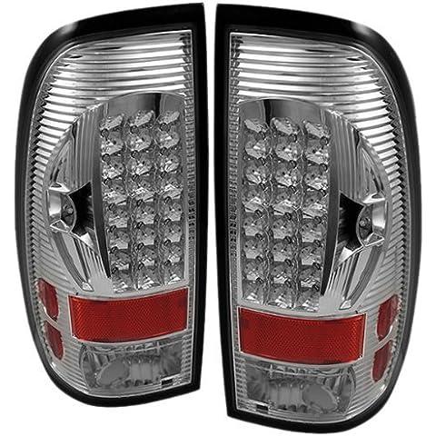 Spyder Auto-ON-ALT FF15097-LED-C/F150 Ford Styleside F250/350/450/550 Super Duty cromato LED Tail Light by Spyder Auto - Ford F250 A / C