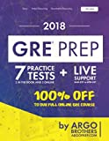 GRE Prep by Argo Brothers: Practice Tests + Online System + Videos, GRE Test Prep 2018 (100% Free Access to Our Full Online GRE Course)