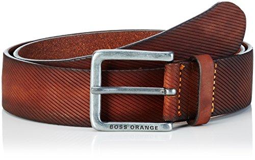 BOSS Orange Herren Gürtel Jeeky_Sz40_ltem, Gr. 95 cm, Braun (Medium Brown 210)