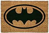 1art1 92896 Batman - Logo Fußmatte Türmatte 60 x 40 cm